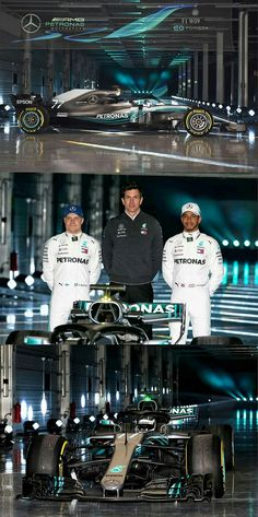 2018 Mercedes W09 unveiled!  F1 superstar Lewis Hamilton, Valtteri Bottas, and teamexecutive director Toto Wolff introduced the Mercedes W09 F1 car to the world on 22 February at Silverstone, England. #F1 #Formula1 #MercedesAMGF1 #W09