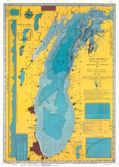 Lake Michigan 1981  THE CARTOGRAPHY COLLECTIVE