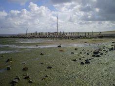 Aan de Waddenzee, bij de Cocksdorp, vind je nog restanten van een oud haventje