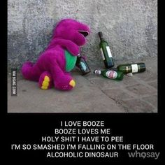 Of all the Barney bashing sings ever made, I like this one the most.