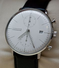 My next watch. Junghans Max Bill Chronoscope