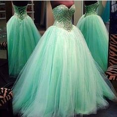 Modest Quinceanera Dress,Beaded Ball Gown,Sweetheart Prom Dress,Fashion Prom