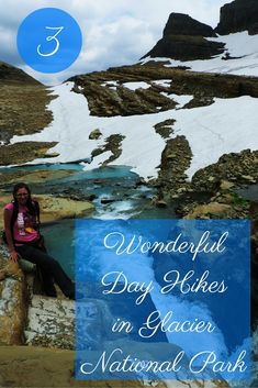 3 Wonderful Day Hikes in Glacier National Park, Montana
