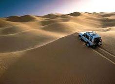 Dune bashing, Abu Dhabi, UAE