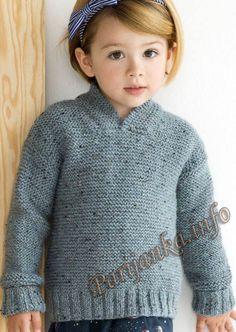 Пуловер (д) 24127 Phildar №4862