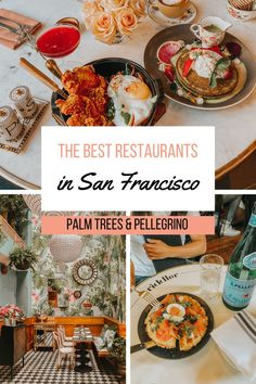 Love good food but also looking for a photo op? We're sharing our list of the best San Francisco restaurants to visit that are also Instagrammable. San Francisco Shopping, San Francisco Restaurants, San Francisco Travel, Seafood Menu, Seafood Restaurant, Food Travel, Usa Travel, Tater Tot Waffle, Northern California Travel