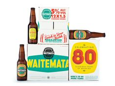 Packaging of the World: Creative Package Design Archive and Gallery: Waitemata Limited Edition Sparkling Ale