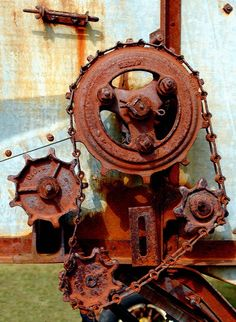 rusty machinery No link to the original Rust Never Sleeps, Steampunk, Abandoned Factory, Industrial Machinery, Rust In Peace, Peeling Paint, Rusty Metal, Ex Machina, Abstract Photography