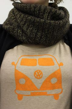 DIY: Shirt mit VW-Bus-Print