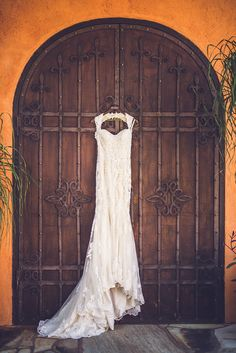 Gorgeous Lace Wedding Dress: Parvani Vida Bridal & Formal | Photo: Ama Photography | Venue: Agave Estates