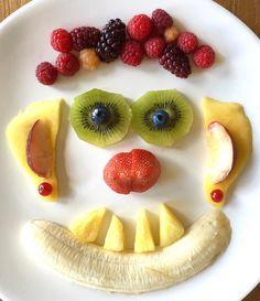 Fruity face for children...