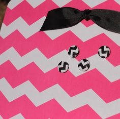Fabric Covered Magnet Board 18 x 12 Hot Pink by YourOnceUponATime, $24.95