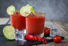 Bone Broth Bloody Mary : Give the classic brunch cocktail recipe a healthy twist.