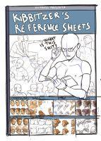 Kibbitzer's Reference sheets -COVER SKETCH- by Kibbitzer
