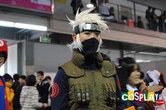 Kakashi Hatake Cosplay from Naruto in YACA 2012 Guangzhou Naruto Cosplay, Kakashi Hatake, Guangzhou, Cosplay Costumes, Punk, Spring, Style, Swag, Punk Rock