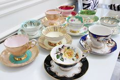 AM Dolce Vita: Vintage Teacup Collection Part III