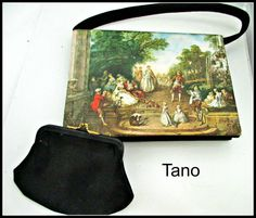 Tano of Madrid Envelope purse French by serendipitytreasure