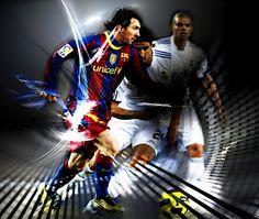 Cristiano Ronaldo Vs Messi Wallpaper