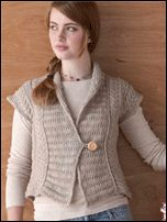 Knitting Patterns Ladies Vest Free : 1000+ images about knit womens vests on Pinterest Drops ...