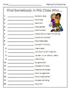 Classroom Friends Game