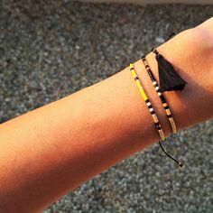 Tiny beaded bracelet bead Friendship Bracelet by ToccoDiLustro