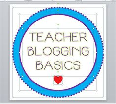 Teacher Blogging Basics: A great resource if you want to start your own teacher blog!