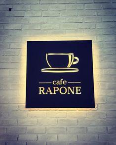 29 Super ideas for design interior store signage Cafe Signage, Shop Signage, Outdoor Signage, Signage Design, Shop Interior Design, Cafe Design, Store Design, Japanese Restaurant Design, Backlit Signs