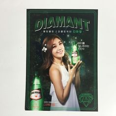 [Limited] K-POP Idol APINK with DIAMONT Drink Promotional Official Apink Photo