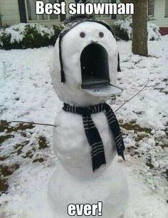 Best snowman ever