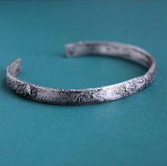 Men's Rugged Silver Cuff Bracelet Silver Bracelets, Bracelets For Men, Bangle Bracelets, Thing 1, Sterling Silver Cuff, Jewelry Making, Silver Cuff Bracelets, Bracelets, Men's Wristbands