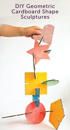 Looking for an easy activity that will keep your whole family entertained? Check out these DIY geometric cardboard shape sculptures. Build beautiful pieces of art to display around your home with just a few common craft supplies. Be sure to wear your Poise® pads and liners while crafting so your LBL doesn't get in the way of family time.