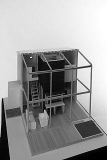 13──「9坪ハウス」模型 西森陸雄 写真=ナカサ&パートナーズ
