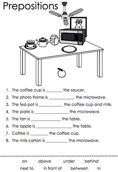Imagini pentru preposition worksheets in on under English Activities For Kids, English Grammar For Kids, Learning English For Kids, Teaching English Grammar, English Worksheets For Kids, English Lessons For Kids, 1st Grade Worksheets, Grammar Lessons, Learn English Words