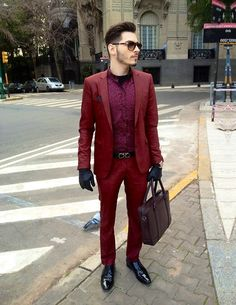 wow I love the sleek-ness in this look . raynfromthesky.blogspot.com Asos Blazer, Asos Pant, Salvatore Ferragamo Belt, Aramis Shoe, Zara Bag, Persol Sunglasses