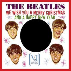 The Beatles Vee-Jay Christmas sleeve