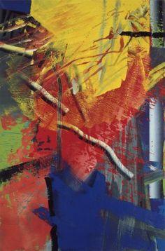 """Gerhard Richter, """"Abstract Painting"""", 1985, Catalogue Raisonné: 576-3. Imagen tomada de http://www.gerhard-richter.com"""