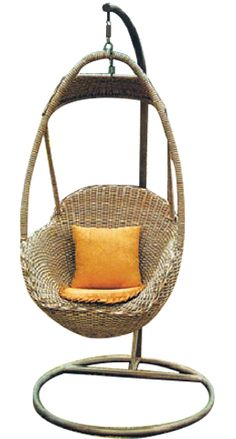 Zaire Hanging Egg Chair - Natural
