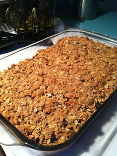 Easy, delicious clean eating blackberry crisp recipe. The best part? It's HEALTHY! {The EnergyEarth Blog}
