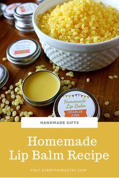 Homemade Lip Balm Recipe Sugar Scrub Homemade, Homemade Lip Balm, Sugar Scrub Recipe, Homemade Gifts, Printable Labels, Printables, Recipe Printable, Salt Scrubs, Lip Scrubs