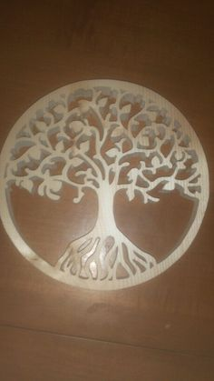 Dxf File Tree Of Life 2 Cnc Dxf Plasma Laser Scroll Saw