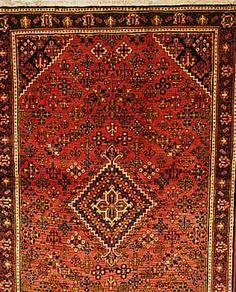 Meymeh,Persien ca 205 x 130 cm. Flor Wolle.