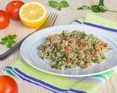 Taboulé de quinoa Ingrédients