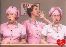 Lucy, Ethel, and chocolates