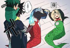 (BnHA) Boku no Hero academia (Doujinshi Dịch) - Tomura và Deku Boku No Hero Academia, My Hero Academia Memes, Hero Academia Characters, My Hero Academia Manga, Anime Characters, Villain Deku, The Villain, Cool Animes, Chibi