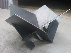 Modern Steel Fire Pit Industrial Metal Atomic Original Custom Design Decor  Overview:     Handmade item     Materials: mild steel, cnc plasma cut, metal     Made to order     Feedback: 32 reviews     Only ships within United States  $500