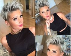 Latest Pixie Hairstyles You Must Try in 2017 25 Best Pixie Cuts 2017 Short Hair Cuts, Pixie Cuts, Short Pixie, Sassy Hair, Pinterest Hair, Haircut And Color, Pixie Hairstyles, Pixie Haircuts, Pixies