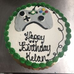 Xbox controller cake Xbox Controller, Young Adults, Teen, Cakes, Desserts, Food, Meal, Xbox One Controller, Deserts