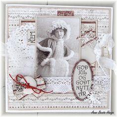 Julekort med Maja Design