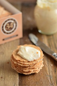 Apricot Honey Goat Cheese Spread