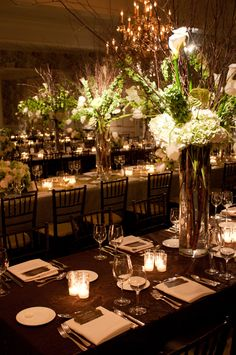 Reception at the St. Louis Country Club   Photography: Jon Koch   Wedding Planner: Cosmopolitan Events